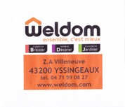 Partenaire Weldom : Accès au site web