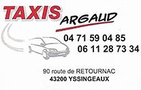 Partenaire Taxis Argaud : Accès au site web