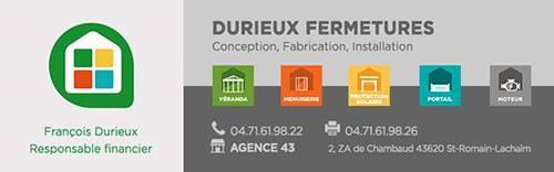 Partenaire Durieux Fermeture : Accès au site web