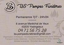 Partenaire BS Pompes Funèbres Yssingeaux : Accès au site web