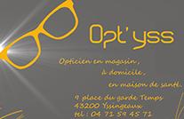 Partenaire Opt'yss : Accès au site web