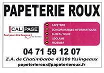 Partenaire Calipage - PAPETERIE ROUX : Accès au site web