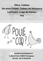 Partenaire Poule ou coq Yssingeaux : Accès au site web