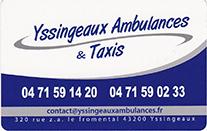 Partenaire Yssingeaux Ambulances Et Taxis : Accès au site web